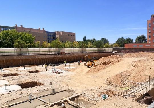 Comienza la construcción de las 50 Viviendas en Soto del Henares