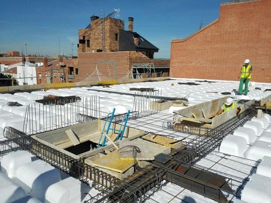 En construcción 11 Viviendas libres en Plaza del Este