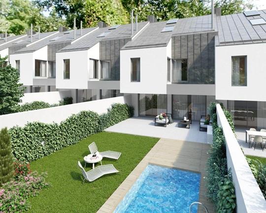 Nueva promoción de 14 viviendas unifamiliares en Torrelodones
